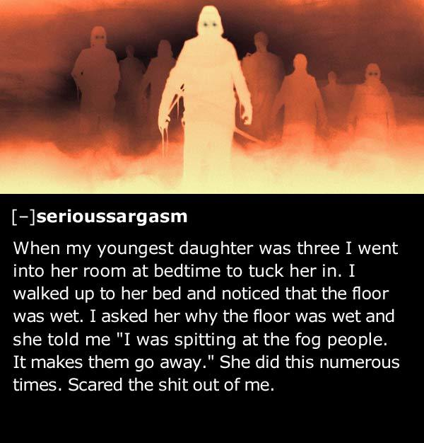 kids say creepy things