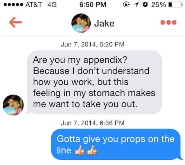Use These 28 Best Tinder Pick Up Lines To Stand Out From
