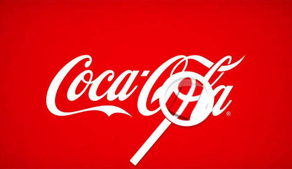 logos with hidden messages - coca cola logo