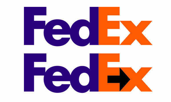 Famous Logos With Hidden Messages - fedex