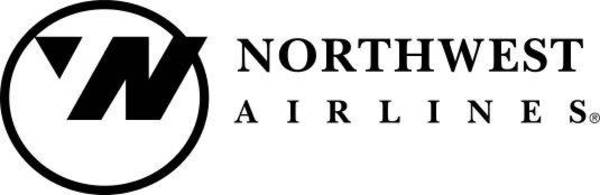 logos with hidden messages - northwest airlines logo