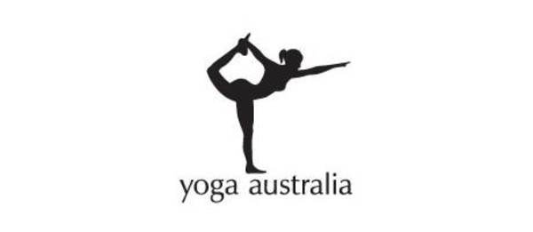 logos with hidden messages - yoga australia logo