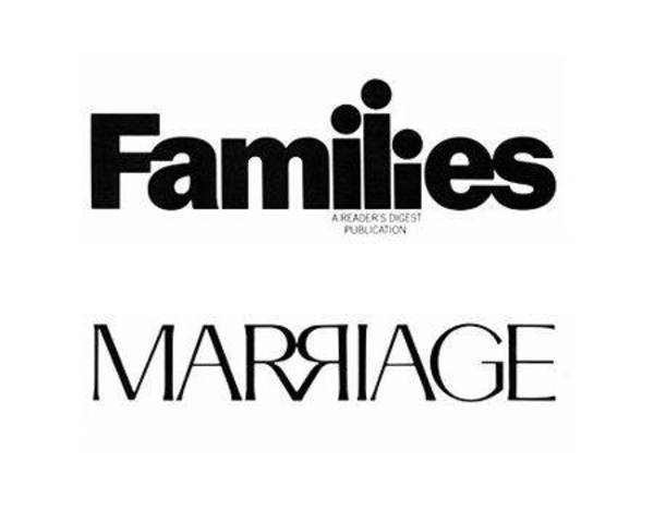 logos with hidden messages - families marriage logo