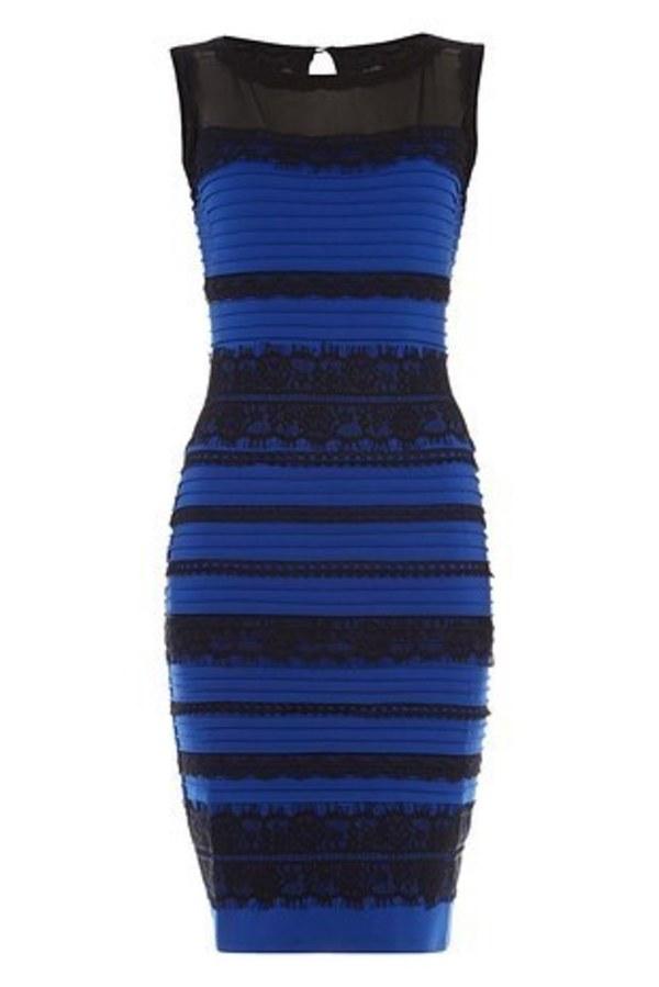 blur dress or white dress