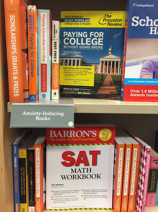book section names