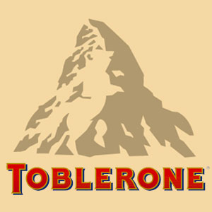 Famous Logos With Hidden Messages - toblerone logo