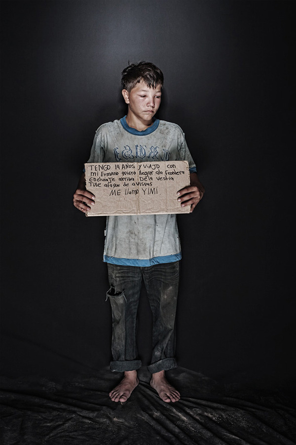 portraits of migrants abuse