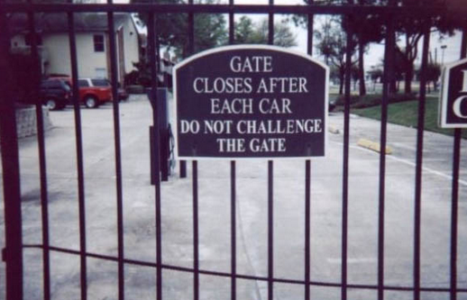 challenge accepted sign