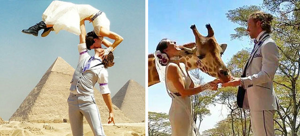 couple getting married around the world
