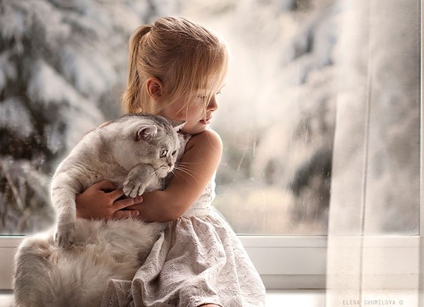 kids and cats together21