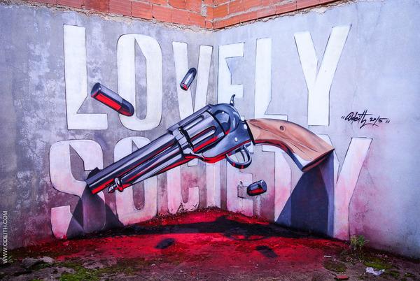 amazing 3d murals
