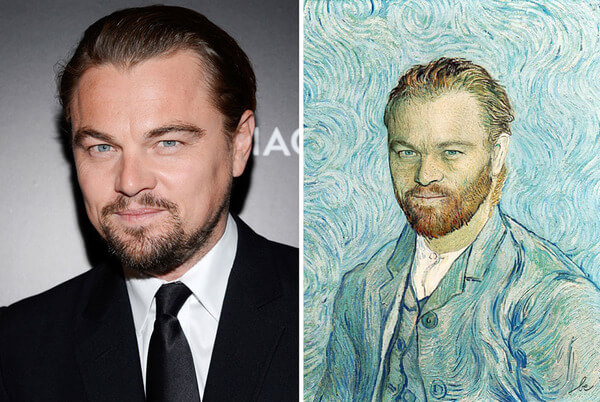celebrities inside famous paintings 1