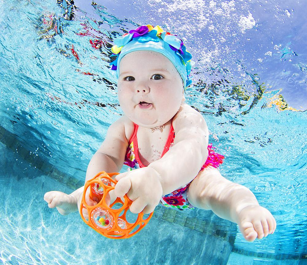 do babies know how to swim