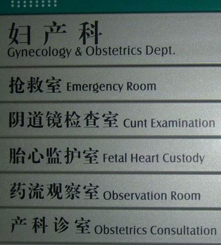 funny Chinese translations29