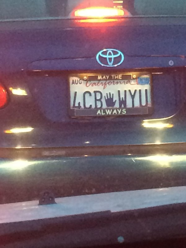 23 License Plates That...