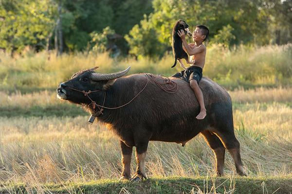 children playing around the world