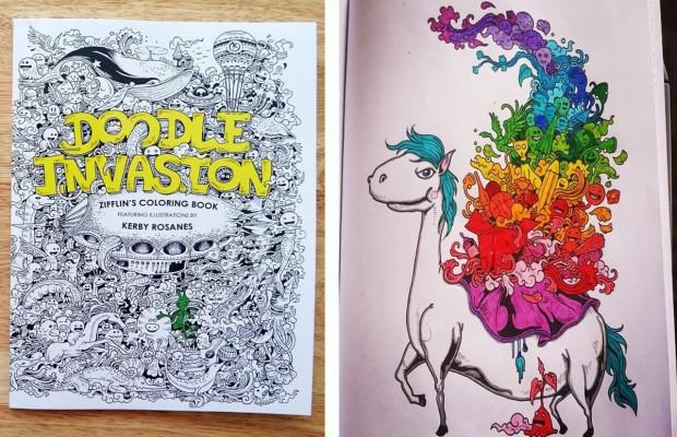 This Coloring Book Has Cute Doodles Even Adults Love
