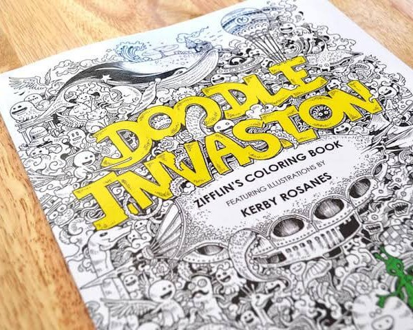 Doodle Invasion By Kerby Rosanes3 Rosanes Released His Book