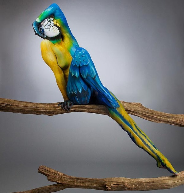 Incredible Body Paintings Of Animals And Nature By Various Artists