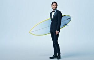 wet-suit looks like a business suit