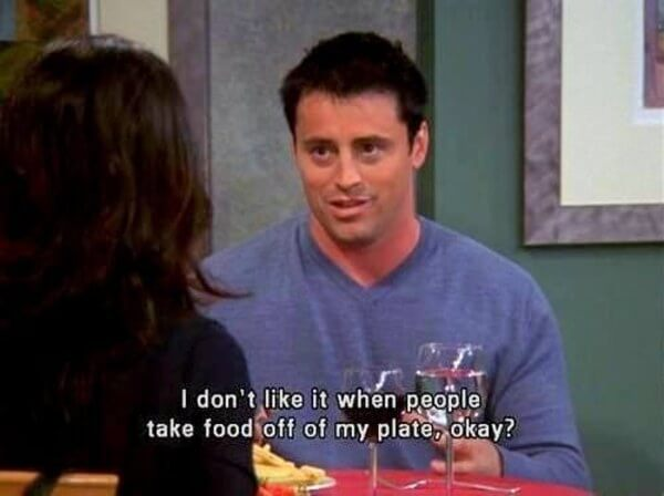 lines from joey tribbiani 11