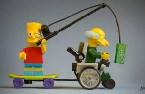 miniature lego art