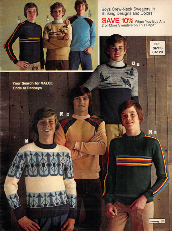 1970's men's fashion ads 39