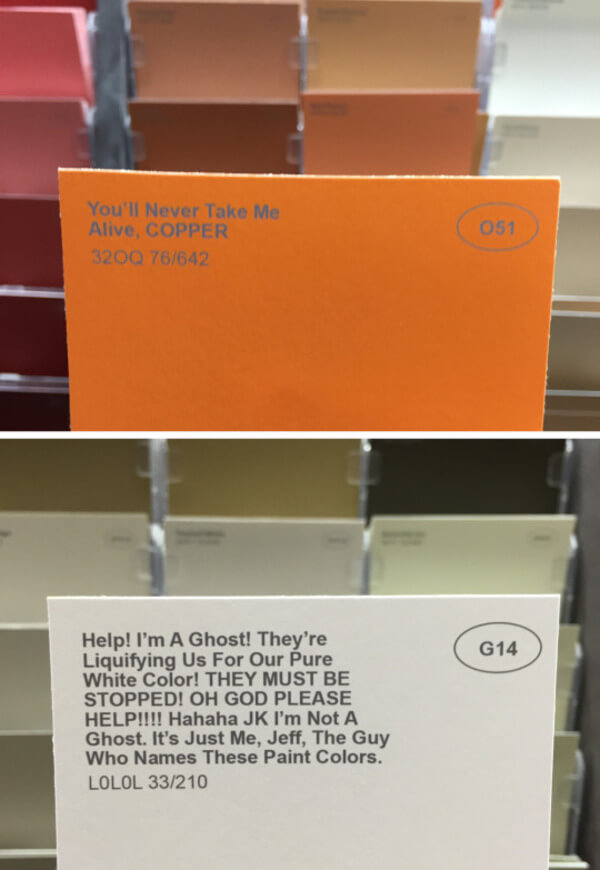 hilarious rename paint colors 5