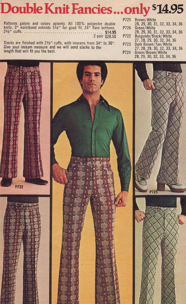 1970's men's fashion ads 21
