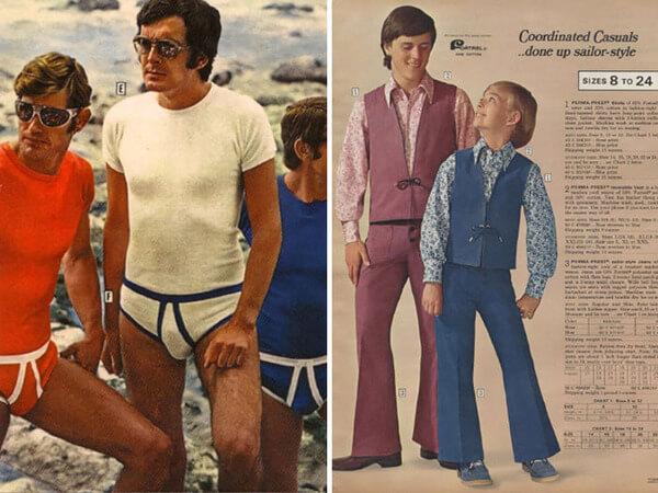 1970's men's fashion ads 34