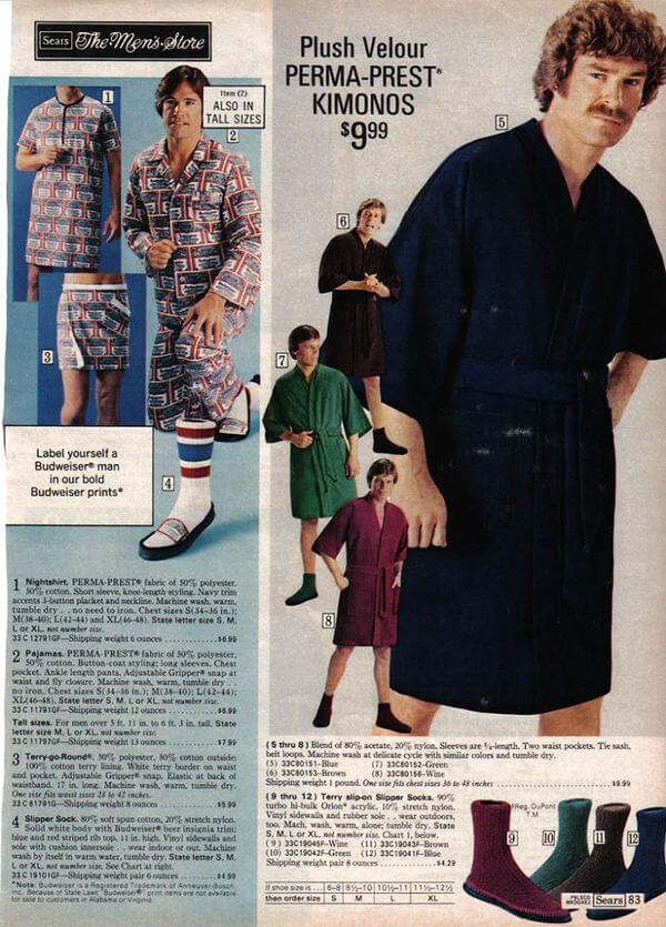 1970's men's fashion ads 41