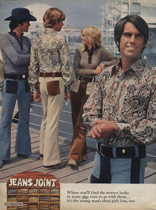 1970's men's fashion ads 38