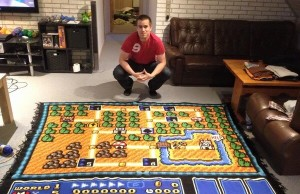 awesome Super Mario blanket 1