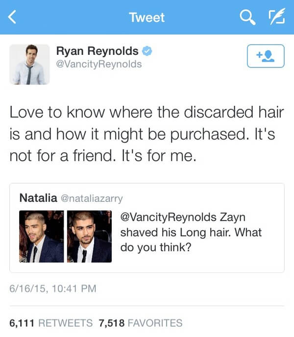Ryan Reybolds twitter is gold 4