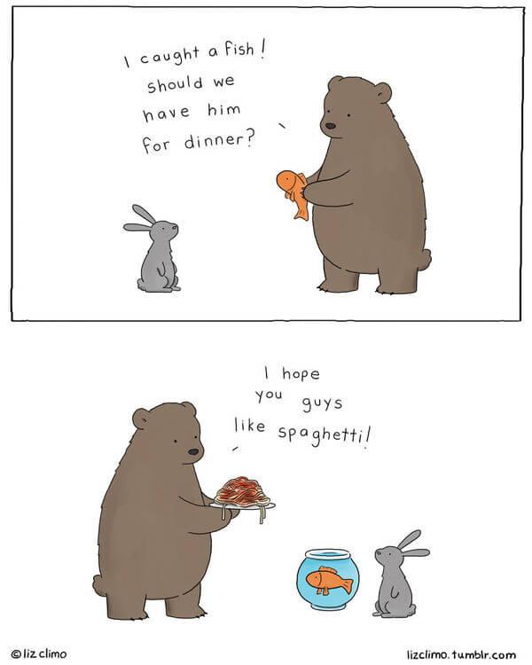 liz climo animal illustrations 1