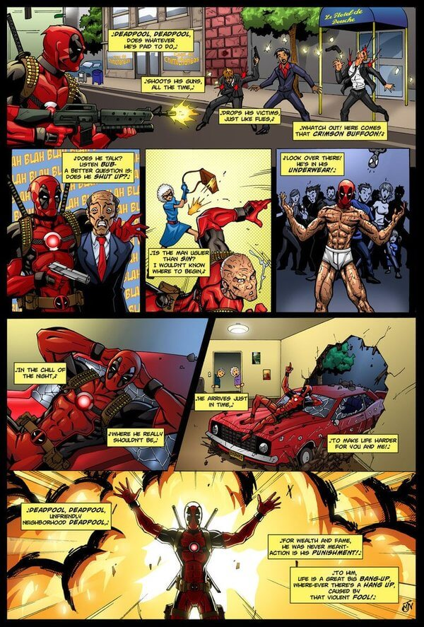 deadpool is awesome 21