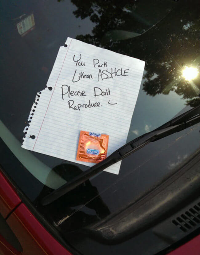 hilarious parking notes 9