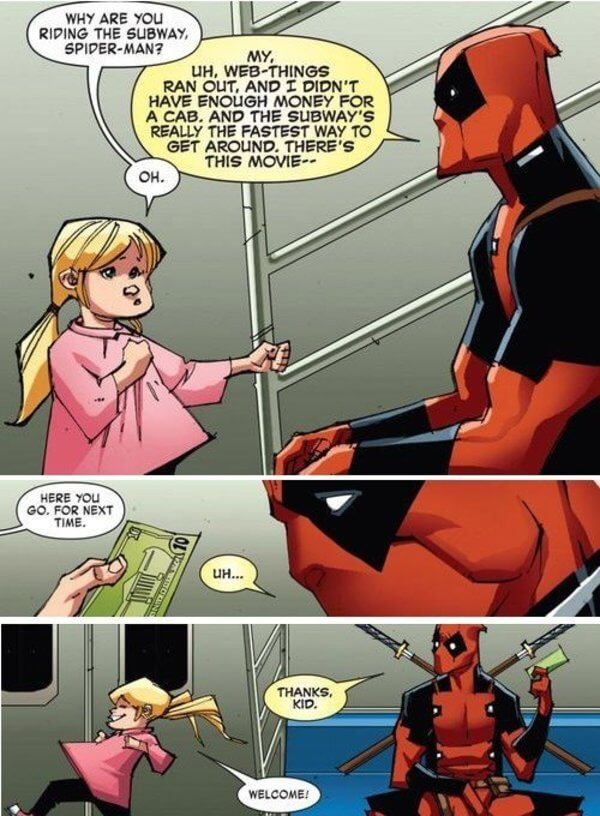 deadpool is awesome 2