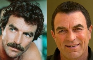 Famous People Without Their Facial Hair 1