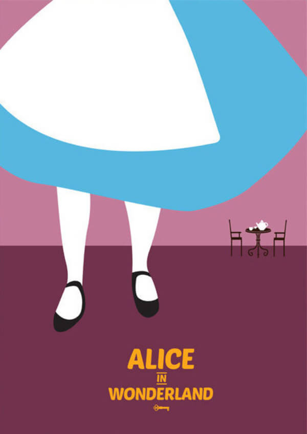 minimalist posters of disney movies 26