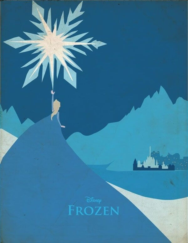 28 Awesome Minimalist Posters Of Disney Movies We All Loved