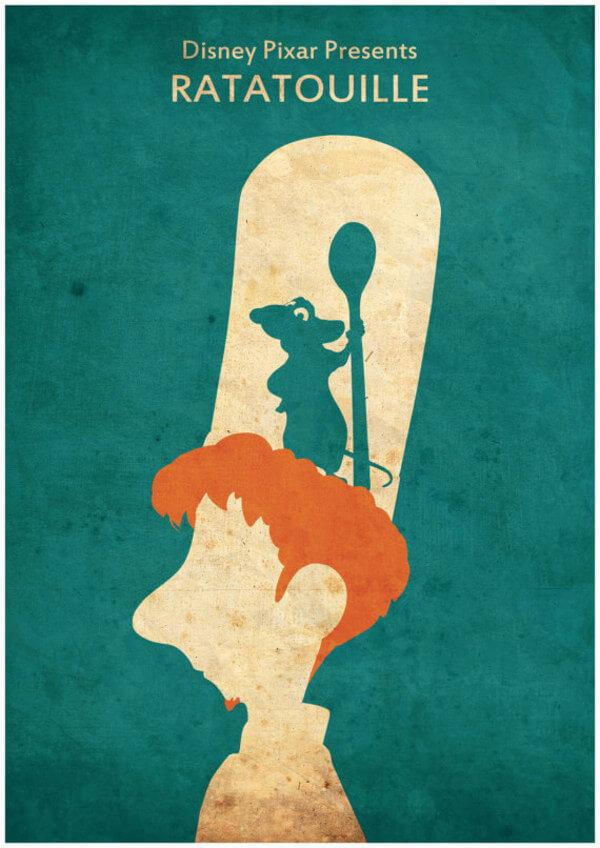 Disney minimalist poster  20