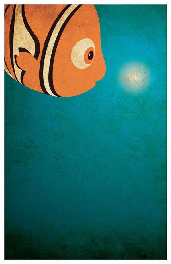 minimalist disney posters of disney movies 24