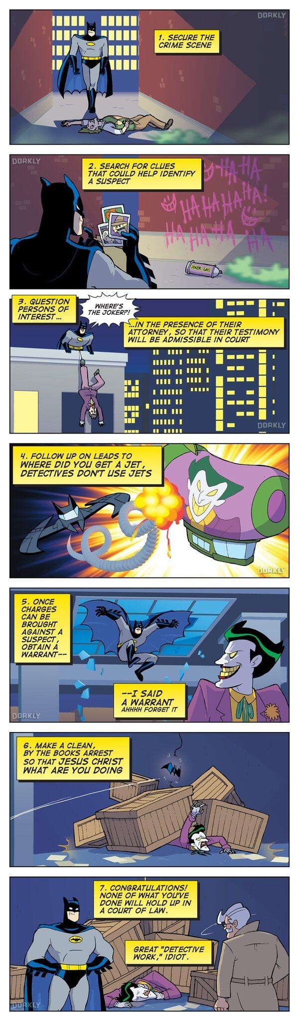 batman is a real detective 2