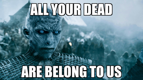 come at me bro - game of thrones style 3