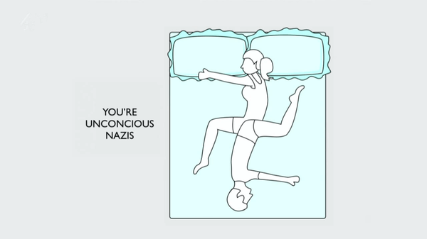 what do your sleeping positions say about you 6