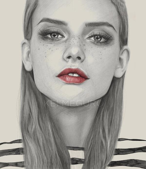 Mesmerizing Photo-Realistic Pencil Portraits Of Woman That ...
