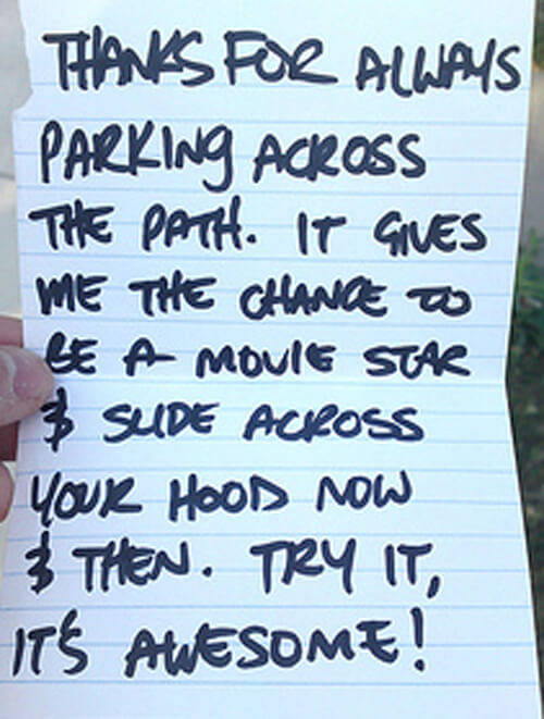 hilarious parking notes 18