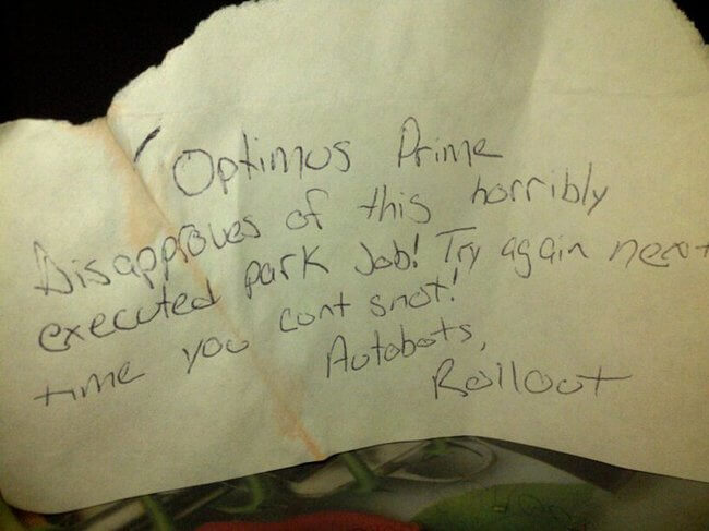 hilarious parking notes 20