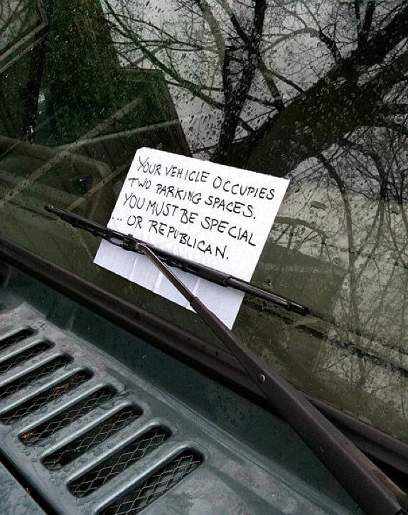 hilarious parking notes 23